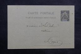 RÉUNION - Entier Postal Type Groupe De St Pierre Pour St Louis En 1900 - L 33548 - Réunion (1852-1975)