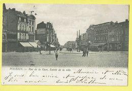 * Roubaix (Dép 59 - Nord - France) * (Edition E. Durant, Nr 4) Rue De La Gare, Entrée De La Ville, Tram, Vicinal, Animée - Roubaix