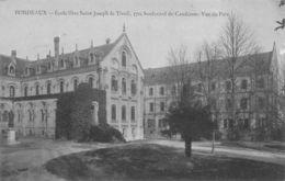 Bordeaux (33) - Ecole Libre Saint Joseph De Tivoli - Vue Du Parc - Bordeaux