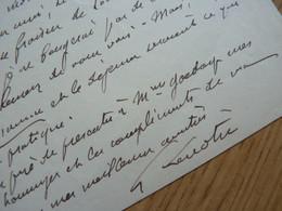 Gosselin LENOTRE - Autographs
