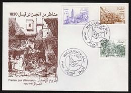 FDC/Année 1982-N°759/761 : Vues D'Algérie Avant 1830 - Algeria (1962-...)
