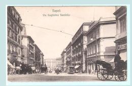 Italie Naples Rue Guglielmo Sanfelice - Napoli
