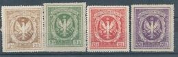 1915/17. Poland (Znaczki Lokalne) - ....-1919 Provisional Government