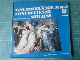 Disque 33 Tours Walzerklangeauswien Minuit À Vienne Strauss - Walzerklangeauswien Minuit À Vienne Strauss - Klassik