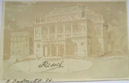 """""""Ungarn, Budabest, Königliche Oper"""" 1899, Halt Gegen Das Licht ♥ (5267) - Halt Gegen Das Licht/Durchscheink."""