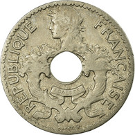 Monnaie, FRENCH INDO-CHINA, 5 Cents, 1924, Paris, TTB, Copper-nickel, KM:18 - Colonies