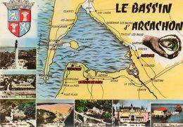 Edit CELLARD........BASSIN D ARCACHON - Cartes Géographiques