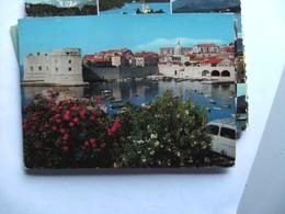 Kroatië Croatia Dubrovnik Panorama And Car - Kroatië