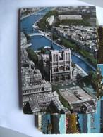 Frankrijk France Frankreich Paris Vue Aérienne Avec Notre Dame - Frankrijk