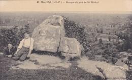 35----MONT DOL--marque Du Pied De Saint-michel--voir 2 Scans - Other Municipalities