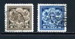Lettonie 1923-25 Y&T 109/110 ° - Lettonie
