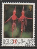 Isle Of Man 1988 The 50th Anniversary Of The Fuchsia - Association 13 P Multicoloured SW 370 O Used - Isle Of Man