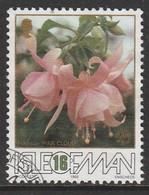 Isle Of Man 1988 The 50th Anniversary Of The Fuchsia - Association 16 P Multicoloured SW 371 O Used - Isle Of Man