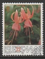 Isle Of Man 1988 The 50th Anniversary Of The Fuchsia - Association 22 P Multicoloured SW 372 O Used - Isle Of Man
