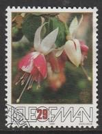 Isle Of Man 1988 The 50th Anniversary Of The Fuchsia - Association 29 P Multicoloured SW 373 O Used - Isle Of Man