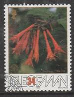 Isle Of Man 1988 The 50th Anniversary Of The Fuchsia - Association 34 P Multicoloured SW 375 O Used - Isle Of Man