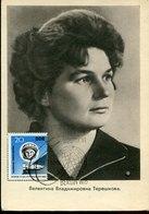 45822 Germany Ddr, Maximum 1963 Valentina Tereschkowa, Wostok, Mi-970 - DDR