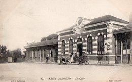 St CHAMOND - La Gare - - Saint Chamond