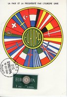 Espagne. Carte Maximum. Europa 1960 - Cartes Maximum