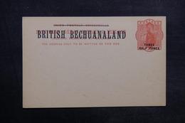 BECHUANALAND - Entier Postal Surchargé Non Circulé - L 33569 - 1885-1895 Kronenkolonie