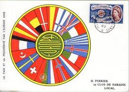 Grande Bretagne. Carte Maximum. Europa 1960 - Cartes-Maximum (CM)