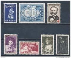 Saarland Jahrgang 1953 ** Kpl. Mi. 31,80 - Ohne Zuordnung