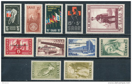 Saarland Jahrgang 1955 ** Kpl. Mi. 9,70 - Ohne Zuordnung