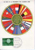 Islande. Carte Maximum. Europa 1960 - Cartes-maximum