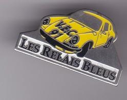 Pin's PORSCHE LES RELAIS BLEUS - Porsche