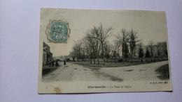 45 Charsonville La Place De L'église 1904 - Other Municipalities