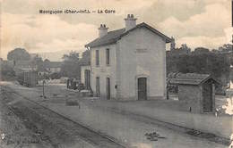 MONTGUYON : La Gare - Etat - France