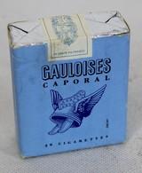 Paquet De 20 Gauloises Caporal - Paquet Neuf - MIC - Tabac (objets Liés)