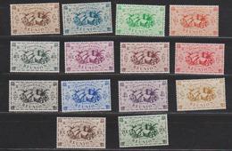 REUNION     N°  YVERT    233/246 NEUF SANS  CHARNIERES      ( Sch 01/31 ) - Réunion (1852-1975)