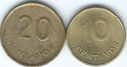 Peru - 1975 - 10 & 20 Centavos (KMs 263 & 264) - Peru