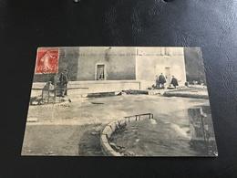 1 - IS SUR TILLE Crue De L'Ignon En 1910. Le Pont De Langres Emporté Par Les Eaux - 1910 - Is Sur Tille