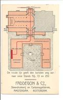 Amsterdam Paleis Voor Volksvlijt. Dubbele Kaart. Middenstandstentoonstelling Juni-aug 1909. ZELDZAAM!! - Amsterdam