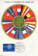 Portugal. Carte Maximum. Europa 1960 - Cartes-maximum (CM)