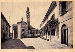 MONTESIRO (MI) - La Parrocchiale - F/G - V: 1944 - Autres Villes