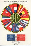 Suede. Carte Maximum. Europa 1960 - Cartes-maximum (CM)