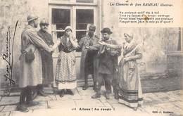 Non Localisé . Berry...Musicien . 36    Chanson De Jean Rameau . Allons. Au Revoir  (voir Scan) - Frankreich