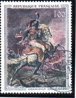 """TABLEAUXE - 1F """"Officier De La Garde De Théodore Géricault""""  N° 1365 Obl. - France"""