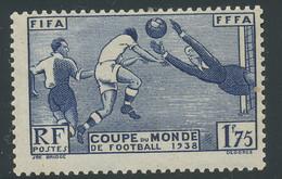 N° 396 - FIFA - Coupe Du Monde De Football 1938 N* (T-014) - Neufs