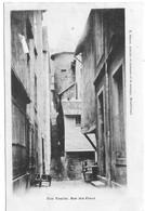 25 DOUBS  Une Yorbe (légende Fautée Yourbe) Rue Des Etaux  à MONTBELIARD Carte Précurseur - Montbéliard