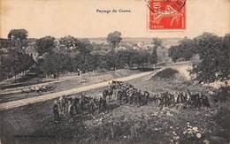 Non Localisé.Paysage Du Centre  36   Militaires En Campagne  Editions Marmour Châteauroux  (voir Scan) - Frankreich