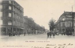 51, Marne, REIMS, L'Avenue De Laon, Scan Recto Verso - Reims