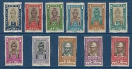 """Gabon Taxe YT 2 à 22 """" Indigène Et Explorateur """" 1930 Neuf* - Gabon (1886-1936)"""