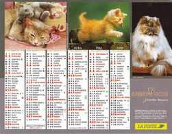 °° Calendrier Almanach La Poste 2005 Cartier Bresson - Dépt 48 - Chiens Et Chats - Calendars