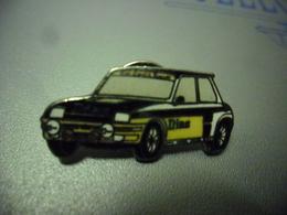 Pin's RENAULT 5 GT TURBO DIAC  - AUTOMOBILE  - Auto @ 30 Mm X 15 Mm - Renault