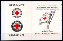 FRANCE - Carnet Croix Rouge 1955 - Neuf ** - MNH - Cote: 450,00 € - Carnets