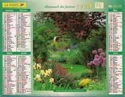°° Calendrier Almanach La Poste 2003 Lavigne - Dépt 54 - Parcs Fleuris - Calendars